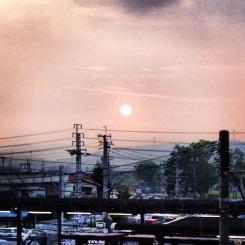 kurashiki_le coucher de soleil